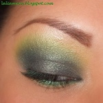 Mix gray with green and gold for a subtler effect.